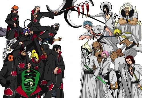 Akatsuki (Naruto) vs Espada (Bleach)