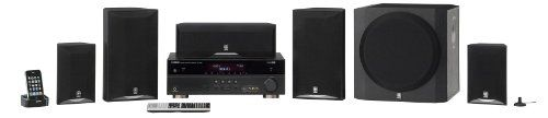 Yamaha YHT-693BL 5.1 Channel 525 Watt HTiB System (Each, Black) - http://top10tvbrands.com/tvs-audio-video/home-theater-systems/yamaha-yht693bl-51-channel-525-watt-htib-system-each-black-com/