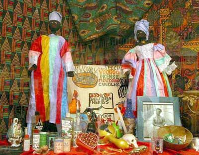 """HowStuffWorks """"African Voodoo""""  R: The religion of Voodoo (a religion involving belief of magic in rituals and objects, as well as in ancestor veneration) originated in the kingdoms of Fon and Kongo around 6,000 years ago."""