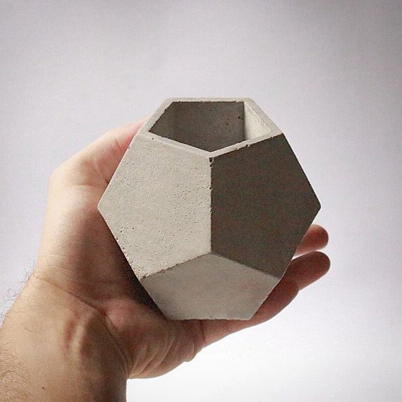 Dodecahedron Vessel / Planter