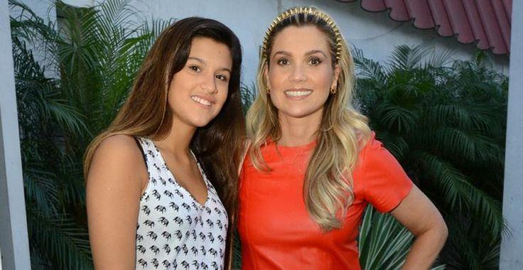 """Filha de Flávia Alessandra comemora papel em 'Malhação': """"Minha mãe se emocionou"""""""