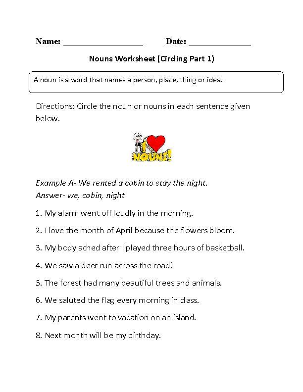 41 best Nouns 1-8 images on Pinterest Nouns worksheet, Regular - child care teacher resume