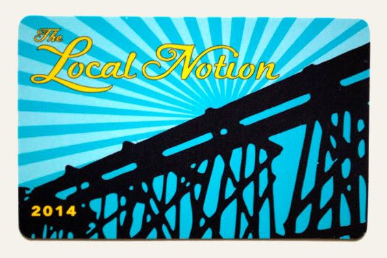 Love the Classic City like we do? Purchase your own Local Notion Card for discounts at your favorite Athens establishments.  #athensga #travel
