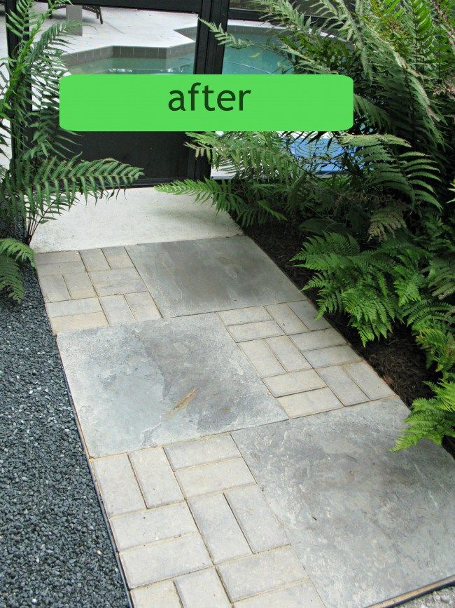 1000 ideas about paver walkway on pinterest inexpensive backyard ideas paver designs and. Black Bedroom Furniture Sets. Home Design Ideas