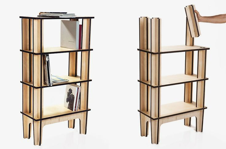 Library Shelf - 4 Levels by Mario Pagliaro | MONOQI