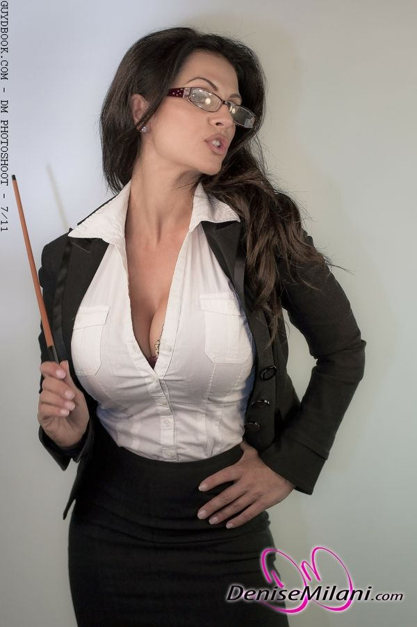 Opinion Denise milani naked teacher idea)))) very