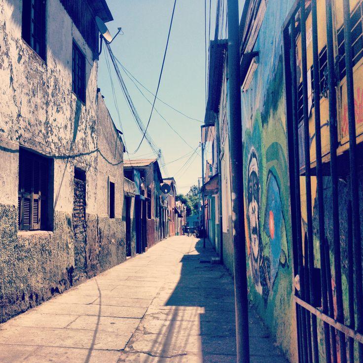 Pasajes Barrio Yungay, Santiago