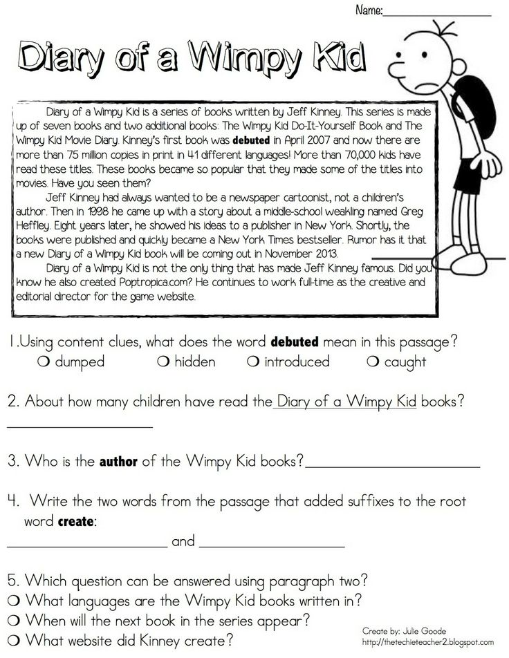 51 best diary of a wimpy kid images on pinterest wimpy kid diary diary of a wimpy kid reading passage freebie solutioingenieria Image collections