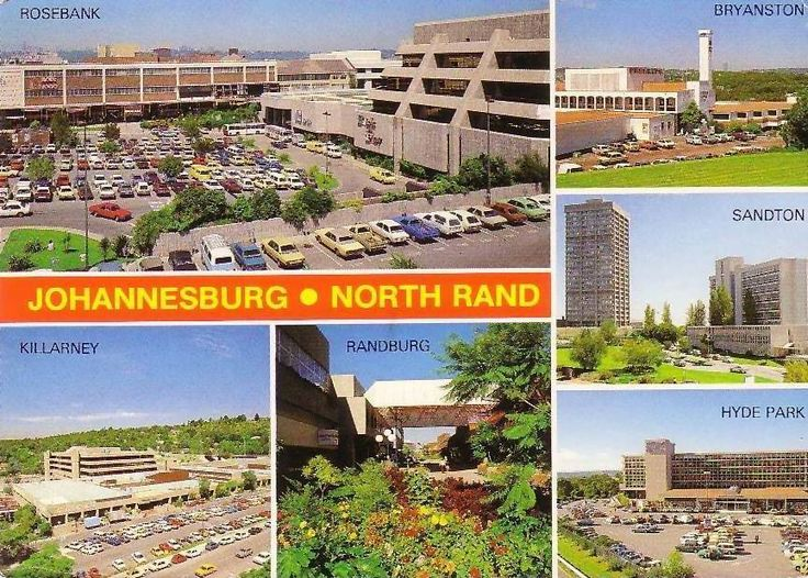 Johannesburg Shopping malls in the 1970's