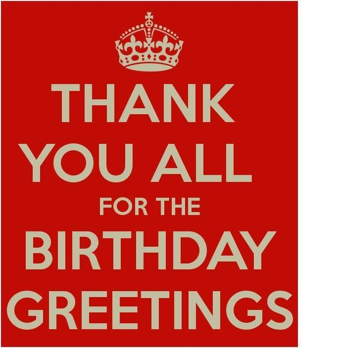 17 Best Images About Thank You Birthday Wishes On