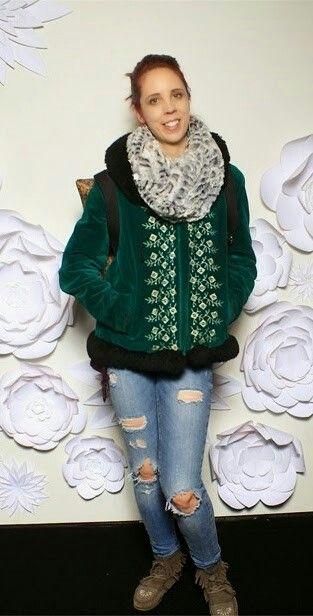 @WMCFashionWeek #toronto #fashionweek Day 4 outfit.  #fashion #PsStyle #thepurplescarf #melanieps