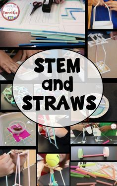 Blog post up about using straws in STEM class! Lot of ideas and links!