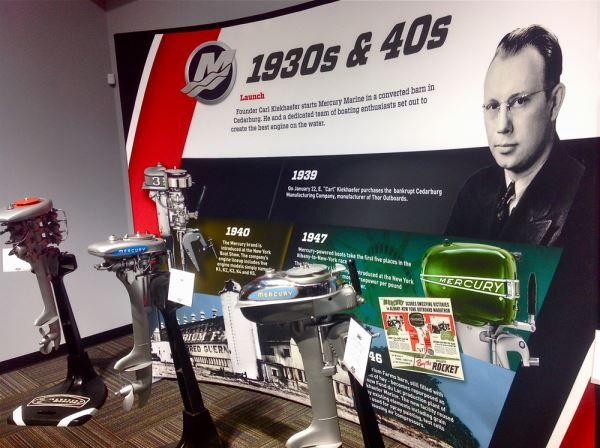 A look inside the Mercury Marine Museum