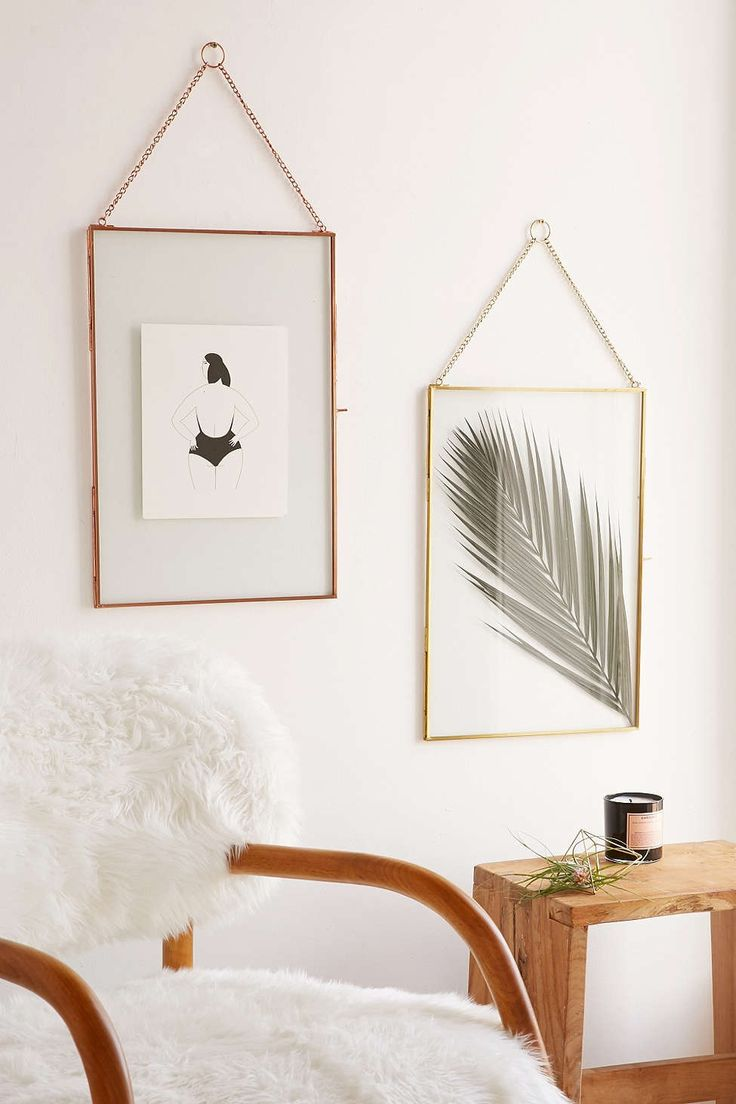 Glass Hanging Display Frame Urban Outfitters Wall