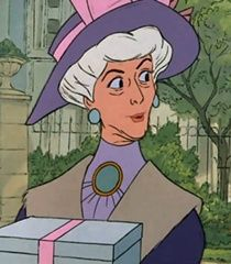 "Madame Adelaide Bonfamille is one of the minor protagonists from Disney's 1970 feature film the Aristocats. She is a wealthy, elderly woman who is the owner of Duchess and her kittens. Madame Bonfamille, often simply called Madame, is an elderly, wealthy woman, who apparently was a famous opera singer at one point (she said that she once played the title character of George Bizet's Carmen, and was even seen dancing to the aria ""Habanera""). She is very kind and generous. At the time of the..."