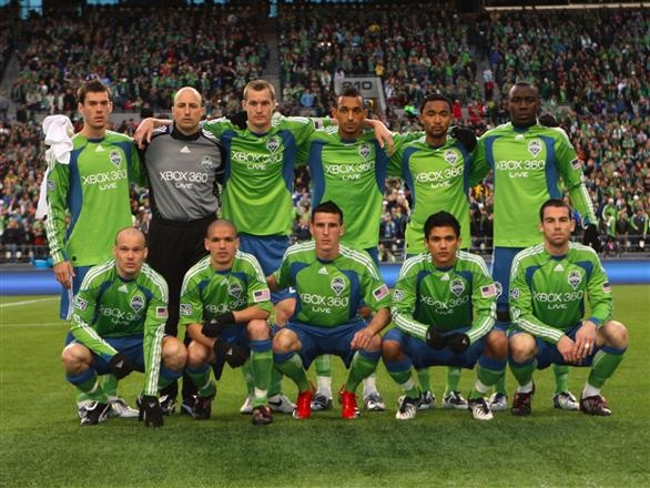 Seattle Sounders Team Photo