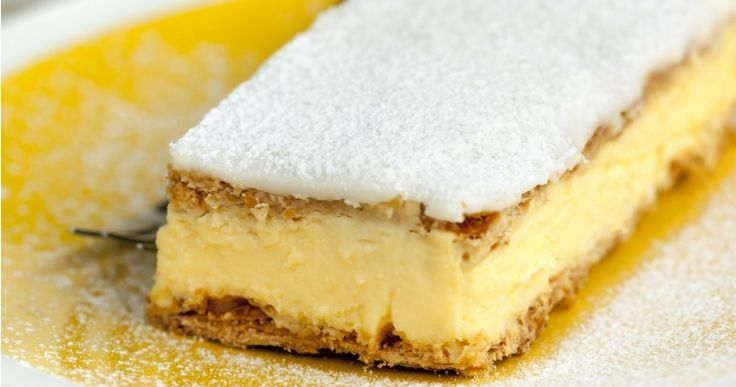 Perfect vanilla slice