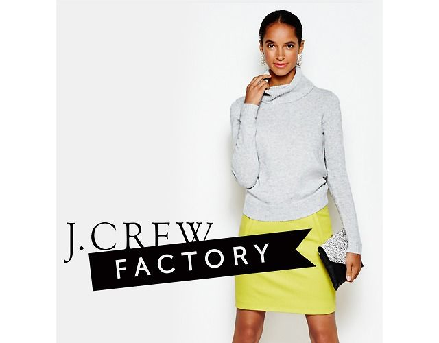 Up to 50% Off Everything J. Crew Factory Sale (Today Only!) Sale (factory.jcrew.com)