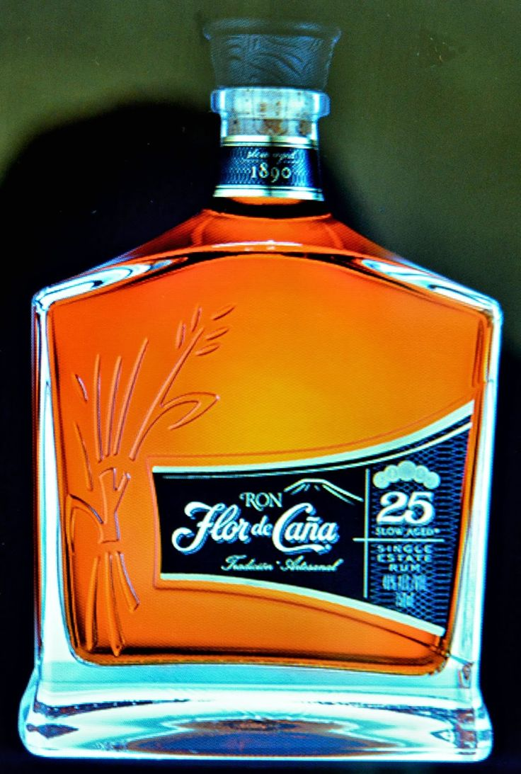Nicaraguan Rum. The Very Best Rum you can find anywhere. Made from pure organic sugar cane. Flor de Caña 25 Slow Aged Rum -