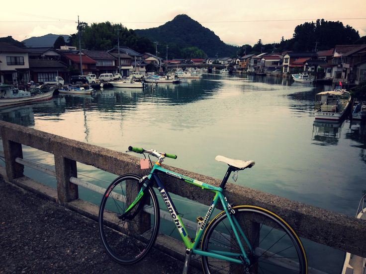 landscape with river #cycle