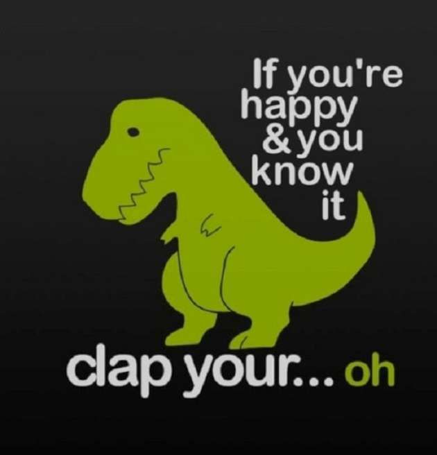 I don't know why, but something about T-Rex's little arms and big head always cheer me up when I am having a crappy day.  Happy Monday!     ...