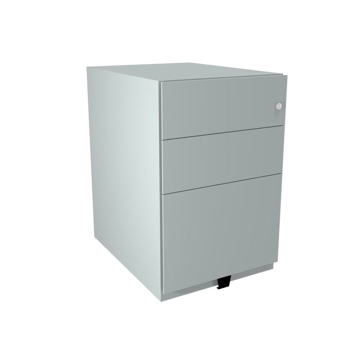 Unique Bisley White Filing Cabinet