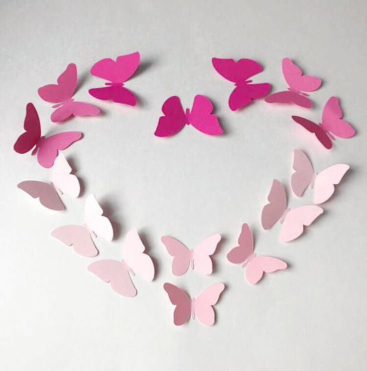 Excited to share the latest addition to my #etsy shop: Butterfly Decal, 3D Wall decor, Nursery decor, Party decor, Stage Decor, Wedding Decor, Paper Decal, pink, baby pink, blush butterfly wall http://etsy.me/2CjJxCD
