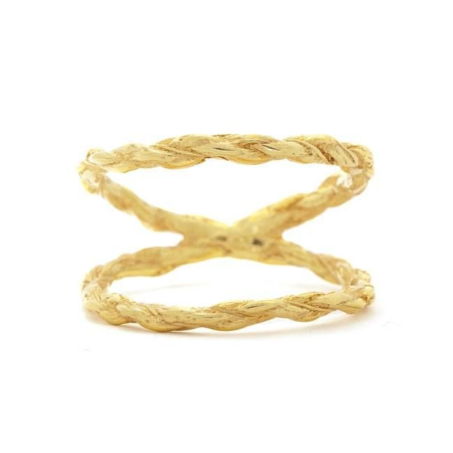 Chupi We Are Twice As Strong Together Ring in Gold