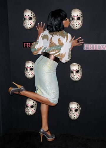 "Tichina Arnold """"Friday The 13th"""" Los Angeles Premiere at Grauman""""s Chinese Theatre - ArrivalsHolly"