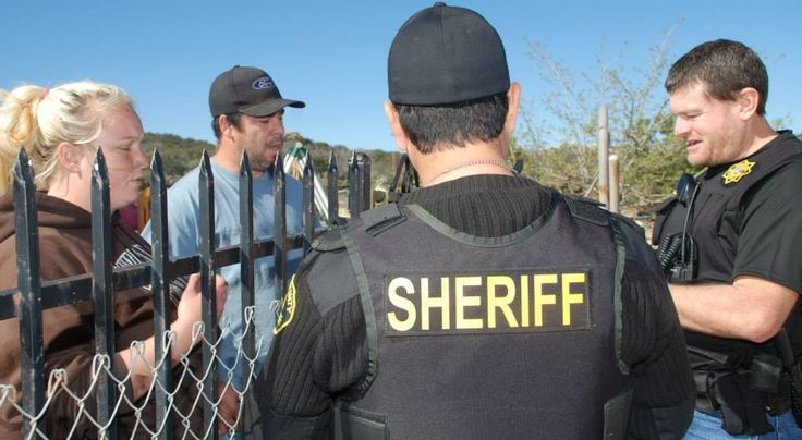 The San Diego Sheriff's department censored a man's controversial posts accusing the Sheriff of being involved in the Ruby Ridge incident.