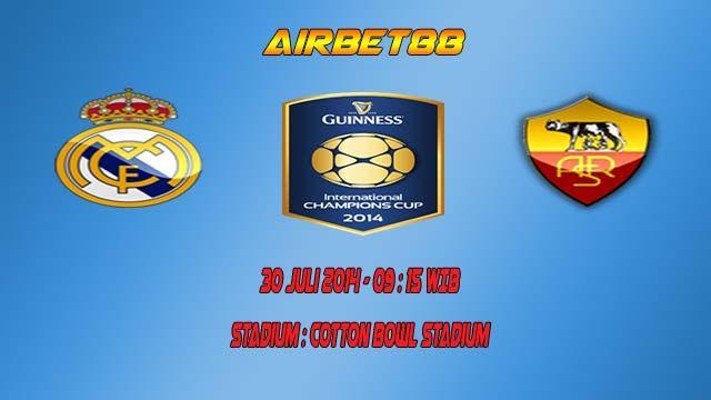 Prediksi Skor Real Madrid Vs AS Roma 30 Juli 2014  http://prediksiskorbolajitu.com