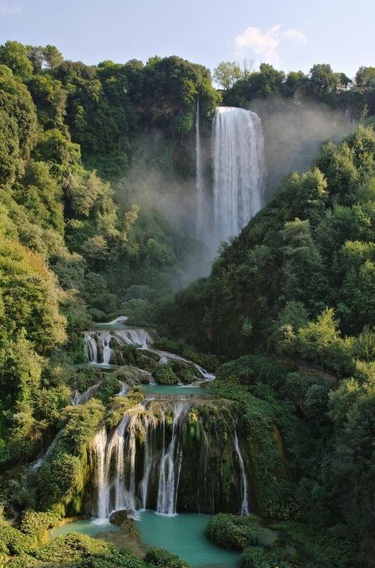 Cascata delle MarmoreMarmore Falls, Cascata delle Marmore, Terni, Italy