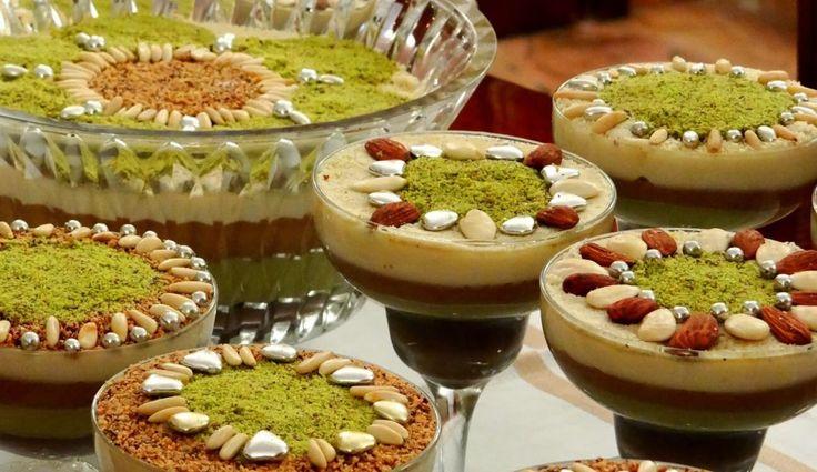 Assida zgougou : La voici, la voilà! La fameuse et authentique recette de l'assidet zgougou, assida préparée lors du Mawlid An-Nabawi, fête musulmane qui commémore la naissance du prophète Mohamed.   - Recettes de cuisine de A à Z