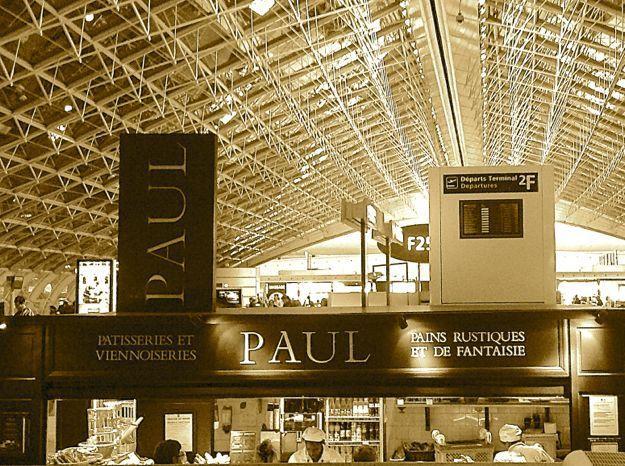 Charles de Gaulle Airport. Paris. France.