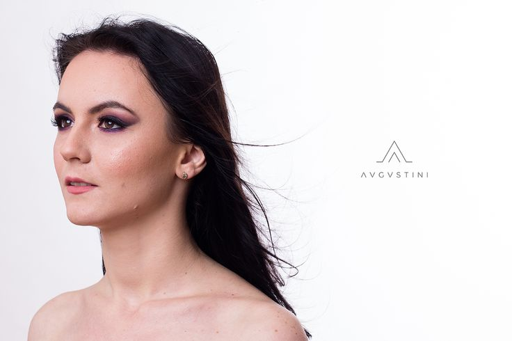 #makeup #makeupartist #bridalmakeup #portfolio #augustini #purpleeyes