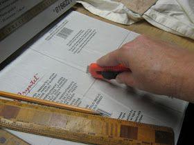 Cheap Chick Designs: Kitchen Reno - Part IV - Backsplash Faux Tiles