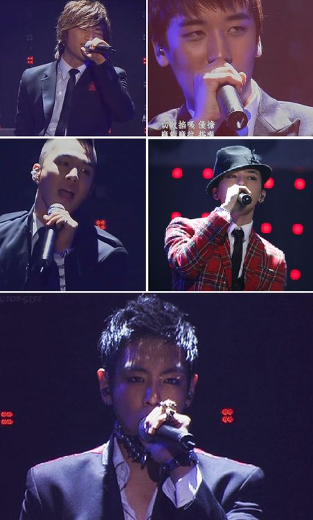 SHOCKING PICTURE-- TOP showing more skin than the rest of the members. ㅋㅋㅋㅋ! (LMAO)