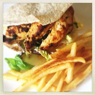 Slice Of Slim: RECIPE : Homemade 'Nandos' Chicken Pitta