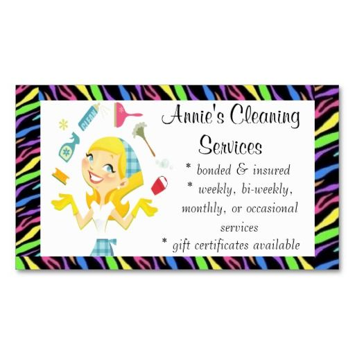 Home Design Business Ideas: 133 Best Images About House Cleaning Business Cards On