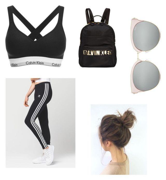 """""""Untitled #9"""" by izzybizzyboo on Polyvore featuring adidas and Calvin Klein"""