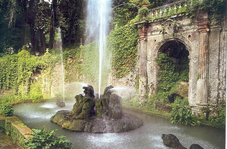 Grotto Fountain Water Features Pinterest