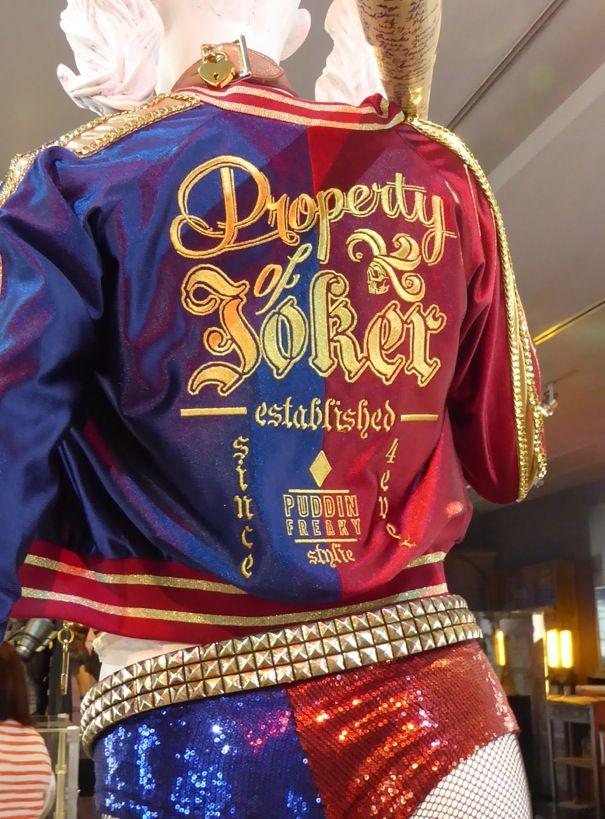 Harley Quinn Property of Joker jacket back Suicide Squad