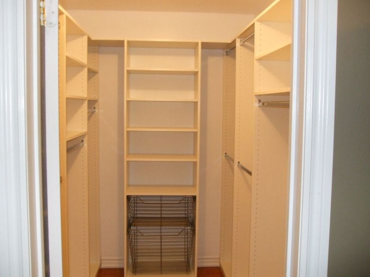 Small walk in closet layout ideas small walk in closet for Small walk in closet organization