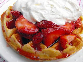 strawberry waffles, lutefisk, breakfast casserole...