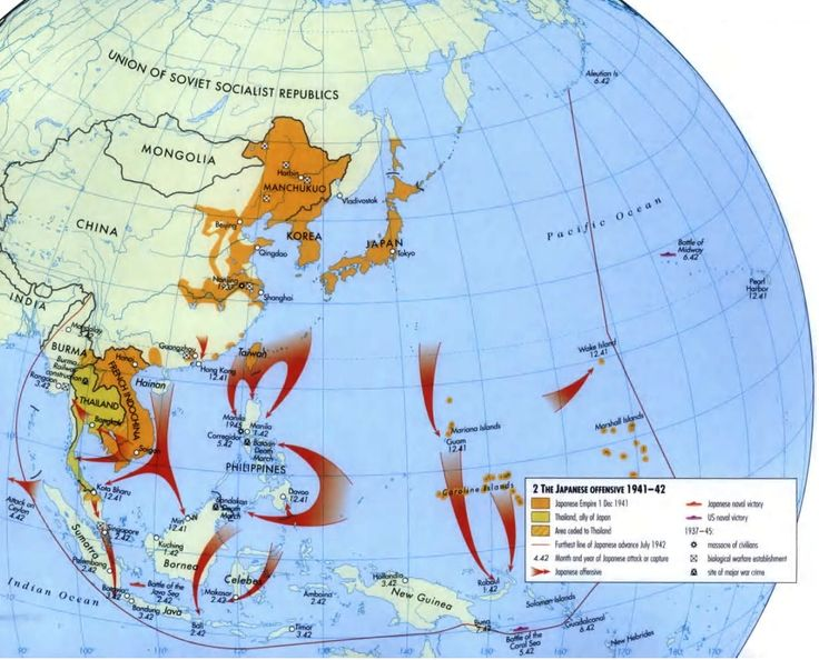 Chapter 24 world war ii american history 2 hist 2112 oer maps pacific theater gumiabroncs