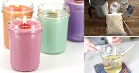 Aprende a fabricar tus propias velas ecológicas con este paso a paso súper fácil…