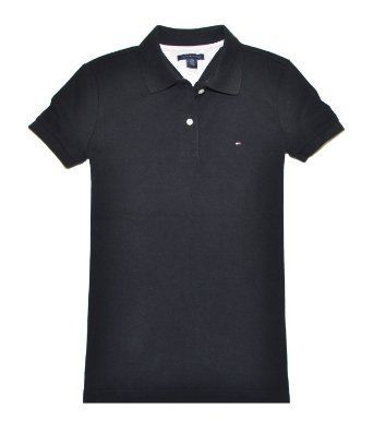 Tommy Hilfiger Women Easy Fit Logo Polo T-Shirt