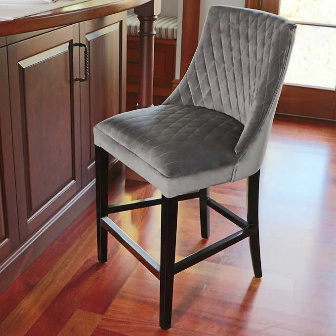 Grey 1 Counter Stools Dining Chairs Stool