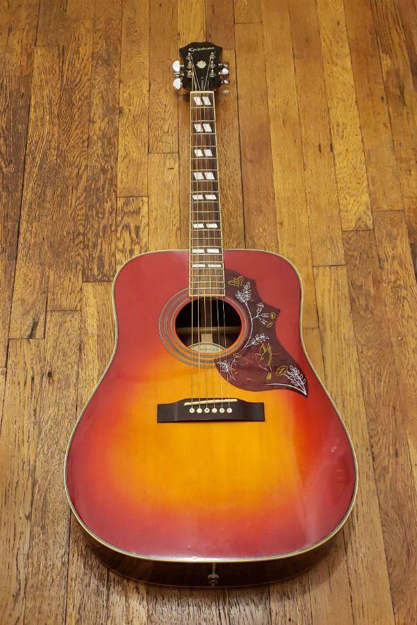 Epiphone Hummingbird Acoustic Guitar Epiphone Epiphone Acoustic Guitar Guitar