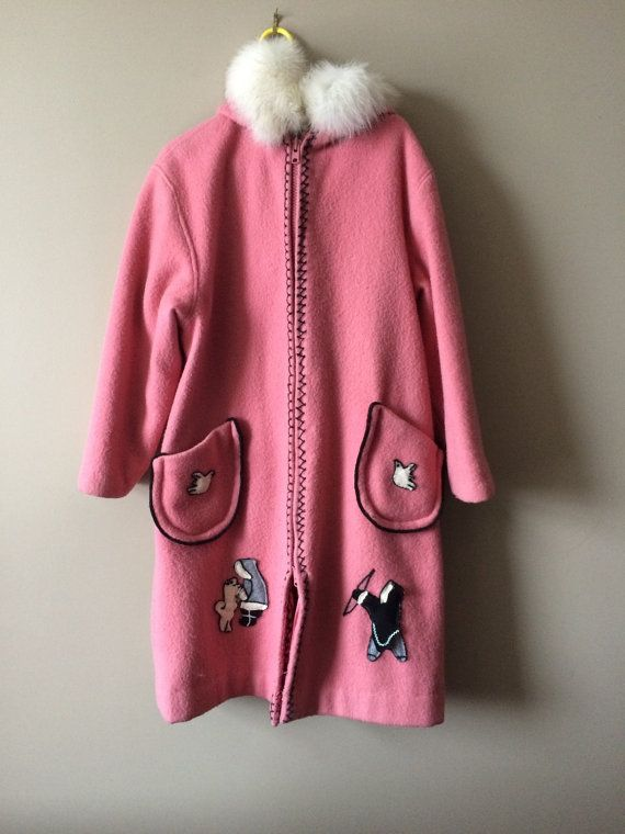 Etsy の Vintage canadian parka by LIVINGLAUNDRY